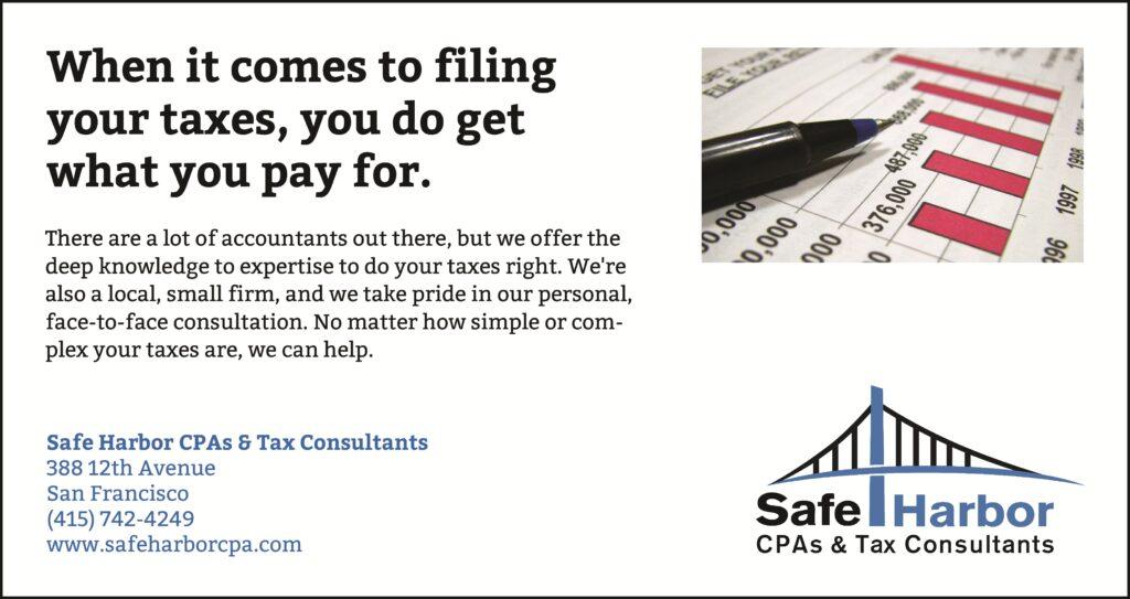 Professional San Francisco Tax CPA