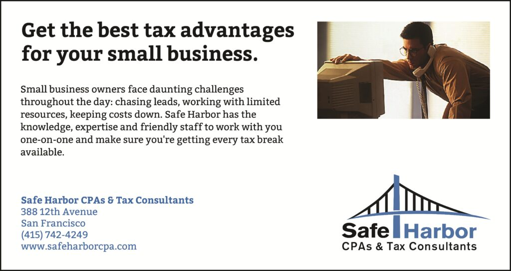 Small Business Tax Advice in San Francisco, CA