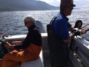 Happy San Francisco Accountants Discover Alaska Fishing
