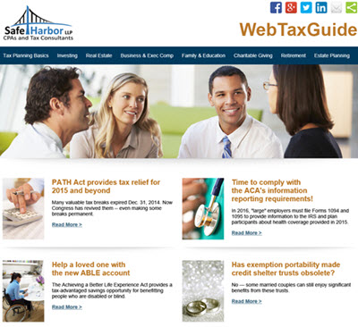 Safe Harbor Tax Planning Guide